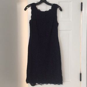 Dresses & Skirts - Navy blue lace evening dress💙